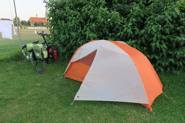 Camped at Butzow